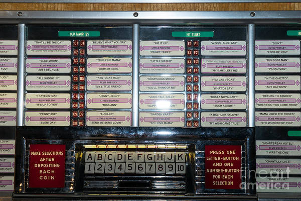 Photograph - Old Vintage Seeburg Jukebox Dsc2762 by Wingsdomain Art and Photography