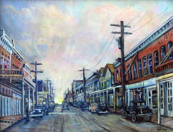Painting - Old Virginia City by Donna Tucker