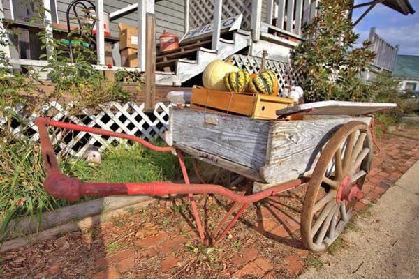 Photograph - Old Wagon by Gordon Elwell