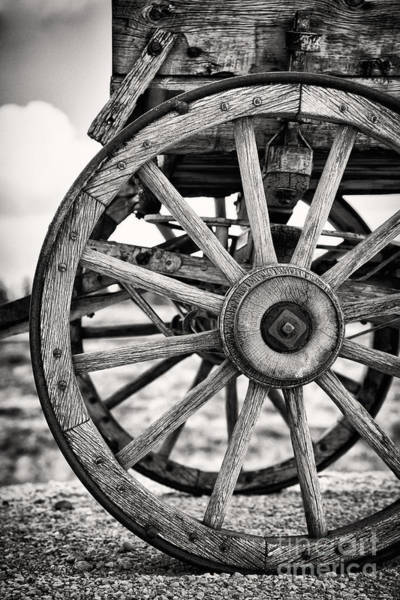 Wall Art - Photograph - Old Wagon Wheels by Jane Rix
