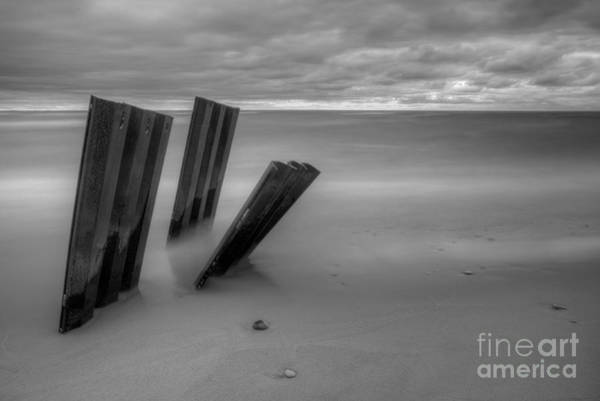 Pointe Wall Art - Photograph - Old Walls Falling In Black And White by Twenty Two North Photography