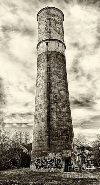 Wall Art - Photograph - Old Water Tower by Bob McGill
