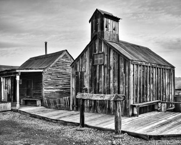 Photograph - Old West Hitching Post by James Eddy