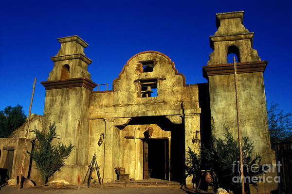 Wall Art - Photograph - Old West Mission by Paul W Faust -  Impressions of Light
