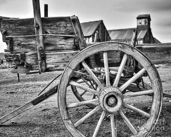Photograph - Old West Wagon by James Eddy