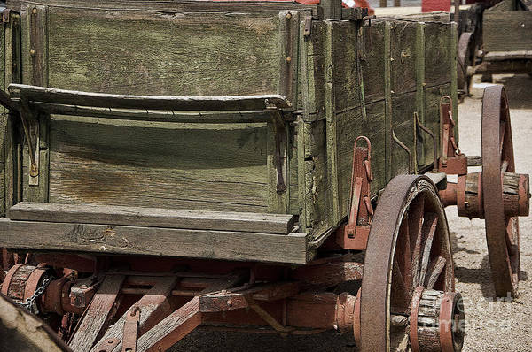 Photograph - Old West Wagon by Kirt Tisdale
