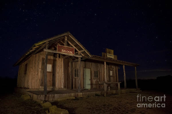 Special Effects Photograph - Old Western Saloon by Keith Kapple
