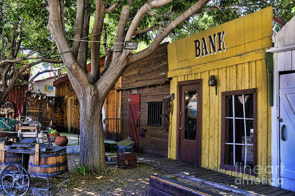 Photograph - Old Western Town by Brenda Kean