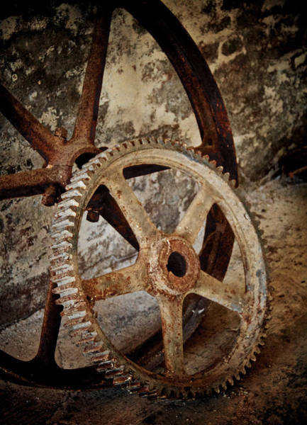 Wall Art - Photograph - Old Wheels by Odd Jeppesen