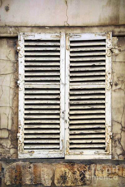 Shutters Photograph - Old Window by Elena Elisseeva