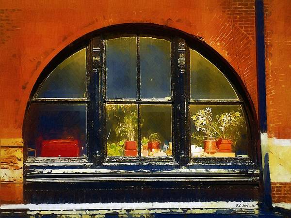 Painting - Old Window In Old Market by RC DeWinter