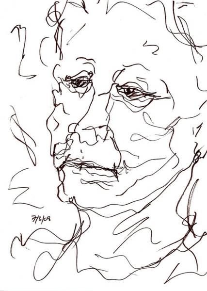 Drawing - Old Woman by Rachel Scott