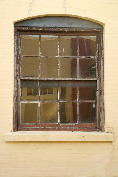 Photograph - Old Wood Window With Arch Top by Bradford Martin