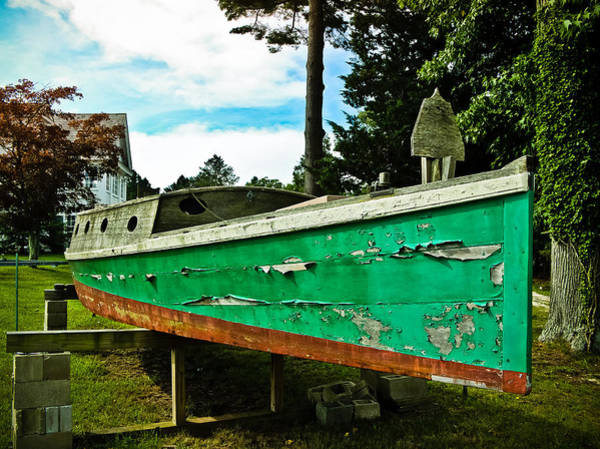 Wall Art - Photograph - Old Wooden Boat by Colleen Kammerer