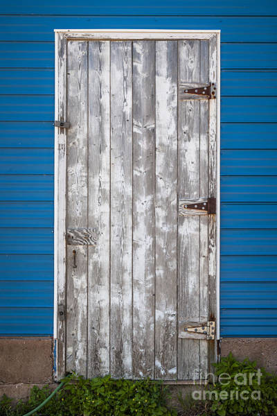 Photograph - Old Wooden Door by Elena Elisseeva