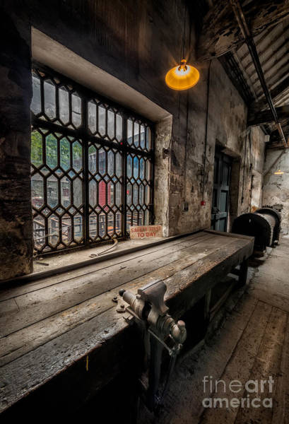 Boiler Photograph - Old Workshop by Adrian Evans