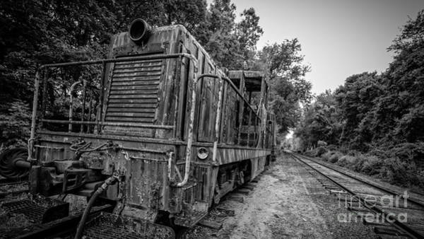 Essex Wall Art - Photograph - Old Yard Switcher Engine Valley Railroad by Edward Fielding