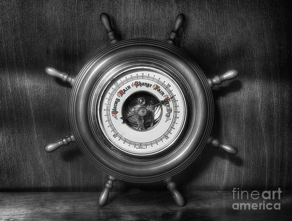 Photograph - Olde Barometer by Ian Mitchell