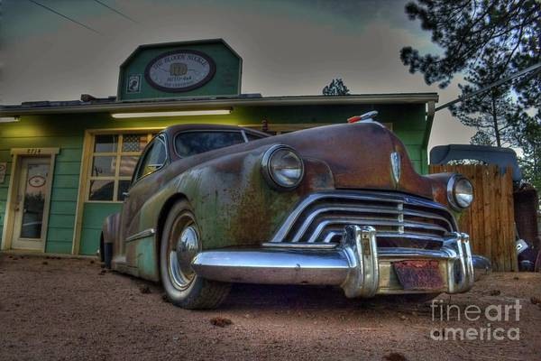 Photograph - Oldsmobile by Tony Baca
