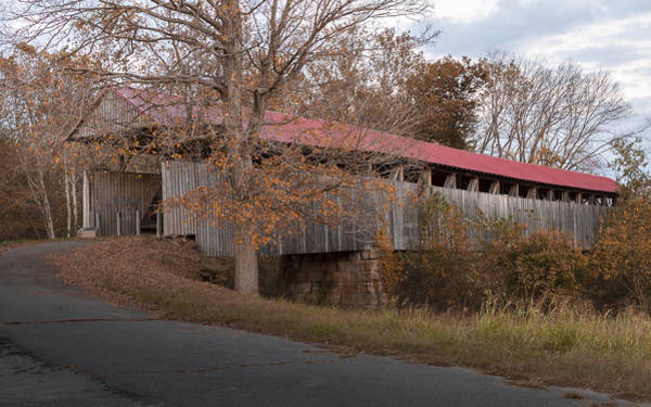 Photograph - Oldtown Covered Bridge by Jack R Perry
