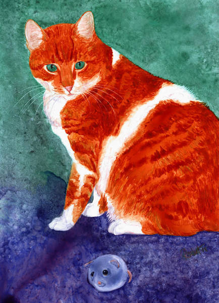 Painting - Oliver by Ann Ranlett