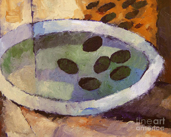Painting - Olives by Lutz Baar