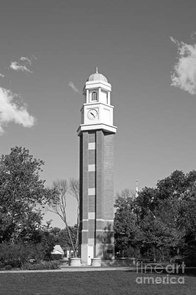 Photograph - Olivet Nazarene University Milby Memorial Clock Tower by University Icons