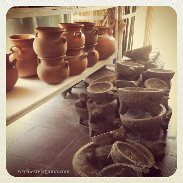 Wall Art - Photograph - Ollas Y Molcajetes by Estela Gama