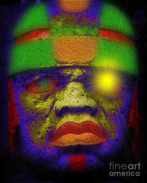 Wall Art - Digital Art - Olmec Realm 2 by Hasseem Abdallah