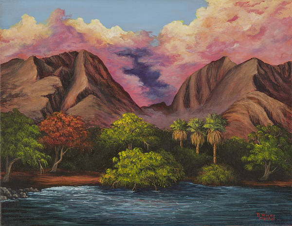 Painting - Olowalu Valley by Darice Machel McGuire