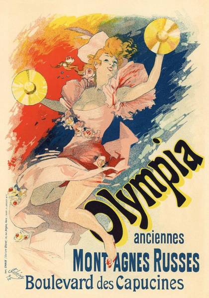 Belle Epoque Photograph - Olympia by Gianfranco Weiss