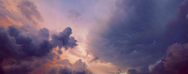 Heavenly Photograph - Olympic Clouds by Michael Guirguis