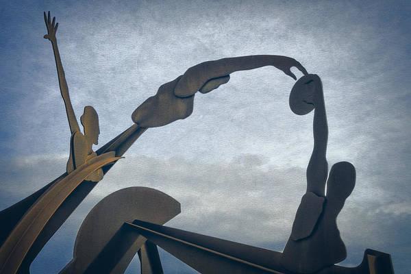 Olympics Photograph - Olympic Sculpture by Joan Carroll