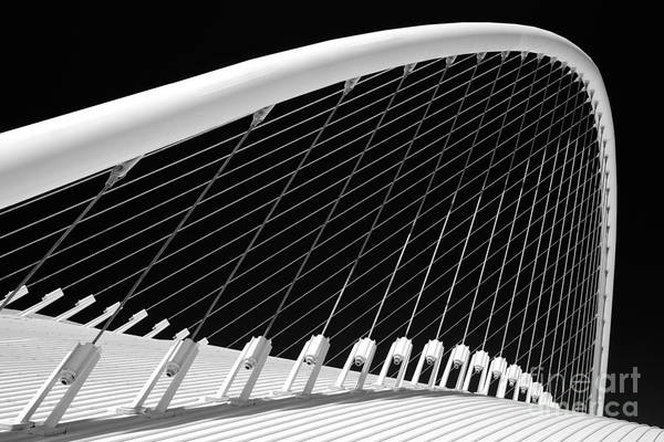 Santiago Calatrava Photograph - Olympic Velodrome - Athens by Rod McLean