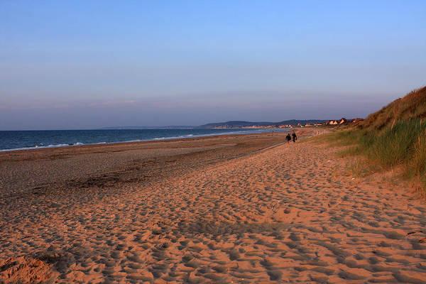 Photograph - Omaha Beach At Sunset by Aidan Moran