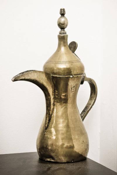 Arabs Photograph - Omani Coffee Pot by Tom Gowanlock