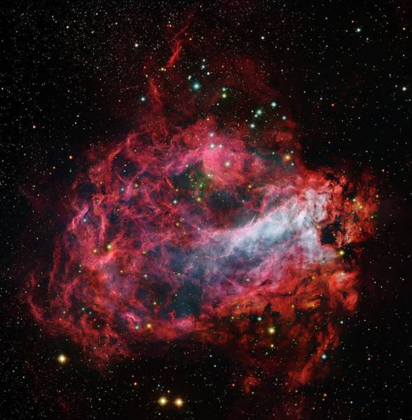 Evolution Photograph - Omega Nebula by Robert Gendler