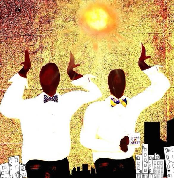 Psi Wall Art - Digital Art - Omega Under The Sun by Romaine Head