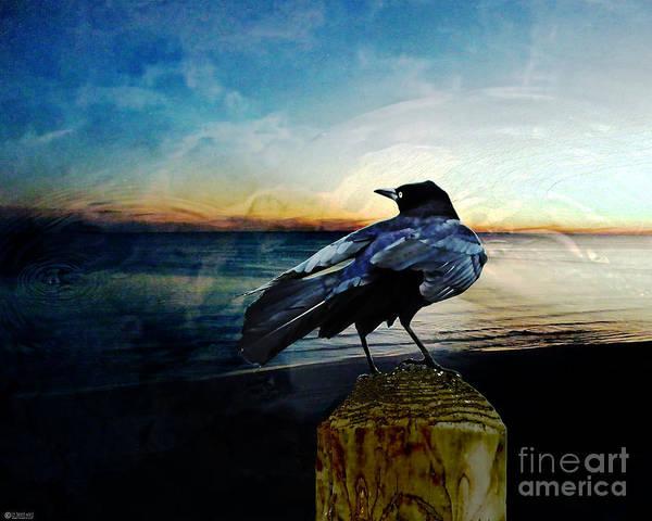 Digital Art - Omen by Lizi Beard-Ward