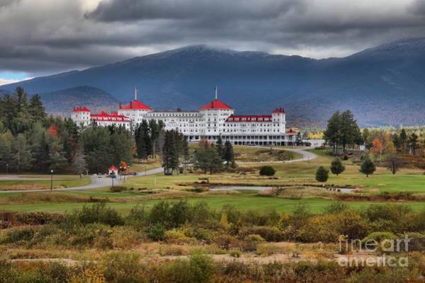 Photograph - Omni Resort In The White Mountains by Adam Jewell