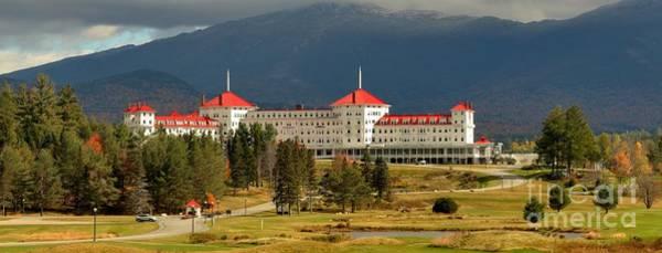 Photograph - Omni Resort Luxury Panorama - White Mountains Of New Hampshire by Adam Jewell