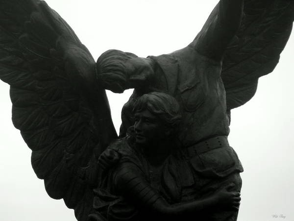 Photograph - On Angels Wings by Wild Thing