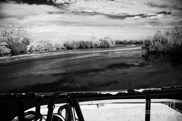 Airboat Photograph - On Board An Airboat Ride In Everglades City Florida Everglade by Joe Fox
