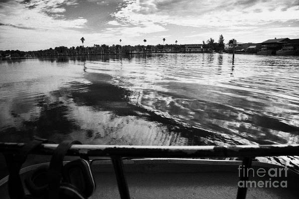 Airboat Photograph - On Board An Airboat Ride In Everglades City Florida Everglades Usa by Joe Fox