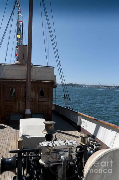 Photograph - On Board Capstan by Brenda Kean