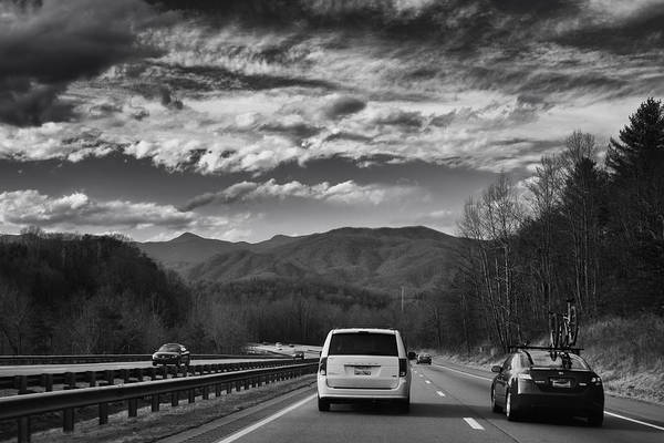 Photograph - On Interstate 40 West by Ben Shields