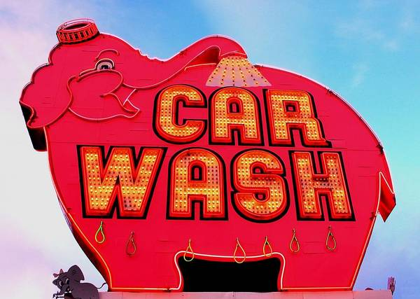 Car Wash Photograph - On Parade by Benjamin Yeager