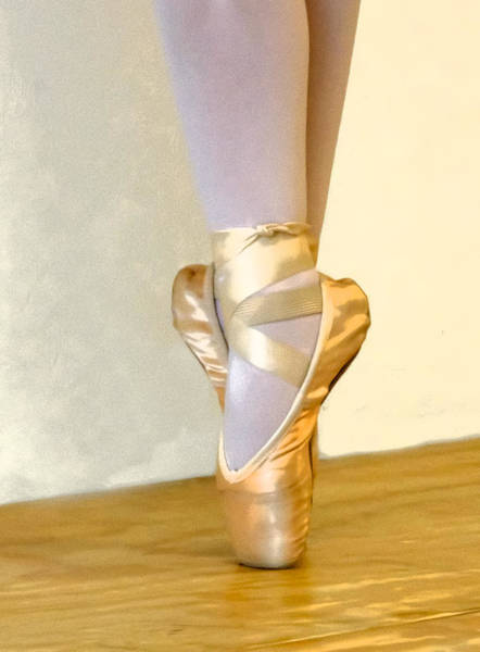 Photograph - Ballet Toes On Point by Ginger Wakem