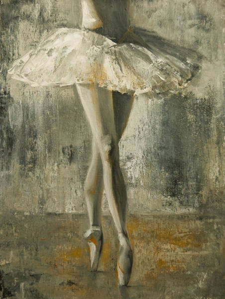 Painting - En Pointe by Jani Freimann