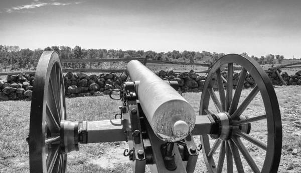 Photograph - On Seminary Ridge   7d02286b by Guy Whiteley